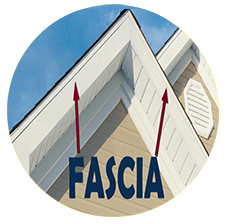 Showing what is the Fascia in a House