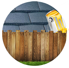Installing Fence Repairing Roof and Painting Houses
