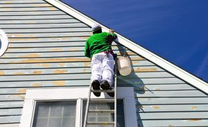 painting the exterior of a house in texas