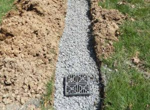 building a french drain